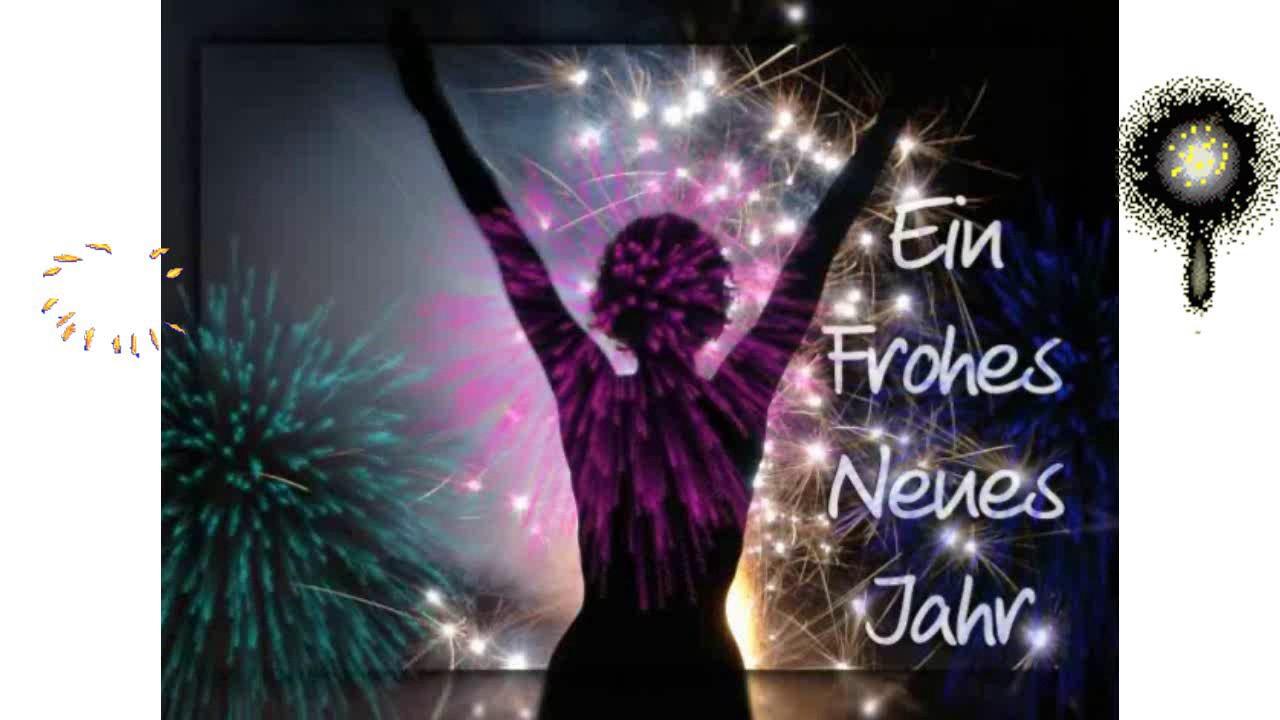 🎉🍸🎉 Silvester Video Gruß für Dich Frohes Neues Jahr Neujahr ...