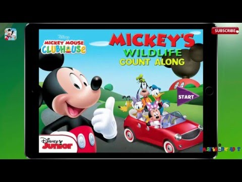 MICKEY MOUSE CLUBHOUSE: Mickey's Wildlife Count Along By Disney Best app for kids iPad iOS