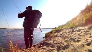 Рыбалка, река Вага Архангельская обл. 2018 (день первый)