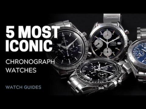 5 Most Iconic Chronograph Watches | SwissWatchExpo