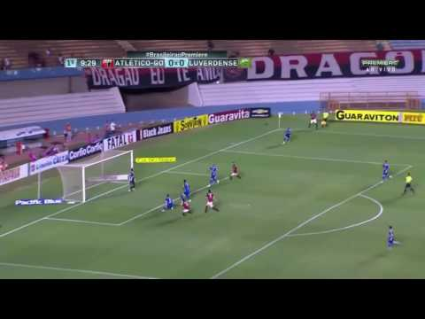 Atlético-Go 2 x 0 Luverdense -Gols serie B 06/09/2016