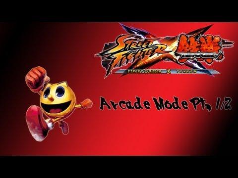 Street Fighter X Tekken Arcade Mode (Pac-Man Pt. 1/2)