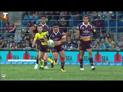 2017 Best Tries - Pangai Jnr flick for James Roberts