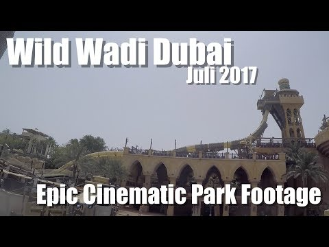 Wild Wadi Waterpark Dubai | Epic Cinematic Park Footage | Juli 2017