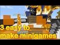 Minecraft - 3 easy to make minigames (part 19)