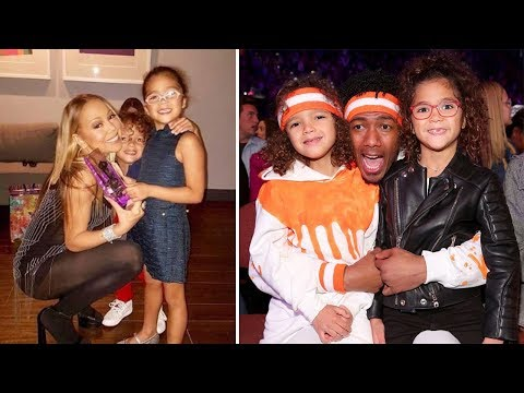 Mariah Carey & Nick Cannon's Kids   2018 {Monroe Cannon  Moroccan Cannon}