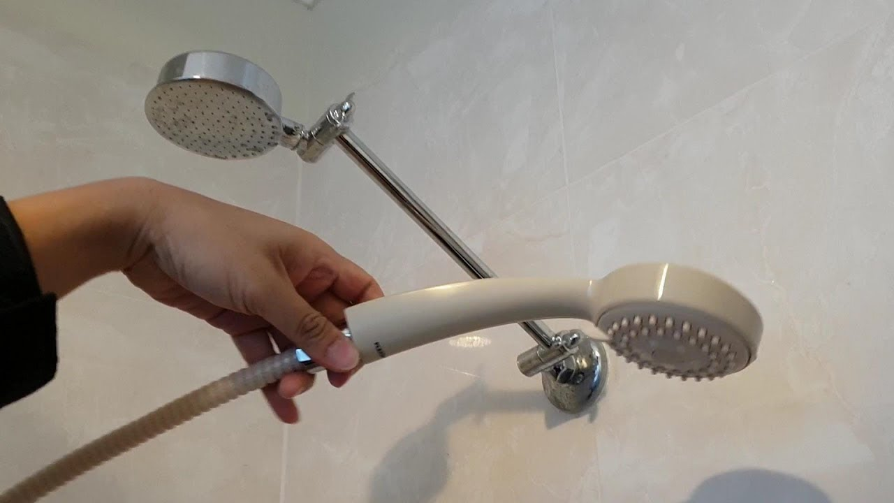 How To Convert Shower Head A Handheld Without Drilling