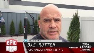 Bas Rutten: UFC 209: Woodley vs Thompson 2    Fight Analysis