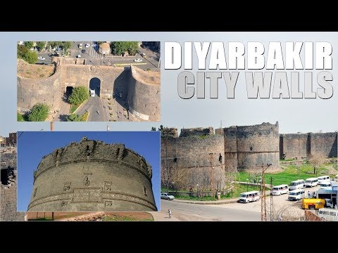 The City Wall of Diyarbakir - UNESCO [Diyarbakir / Turkey]