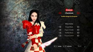 Alice Madness Returns All Dresses PC HD