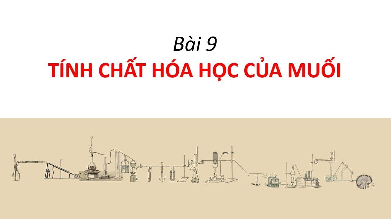 Tính chất hóa học của muối – Hạnh's blog