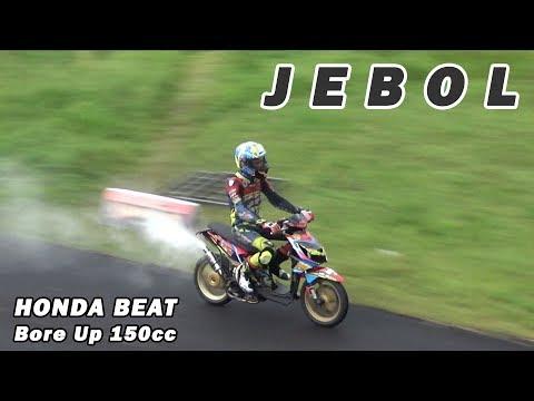 Honda BeAT Bore Up 150cc Mesin Jebol Blow Engine