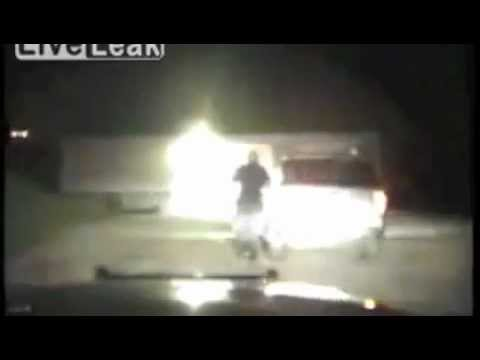 Cop goes crazy when driver refuses a search without warrant