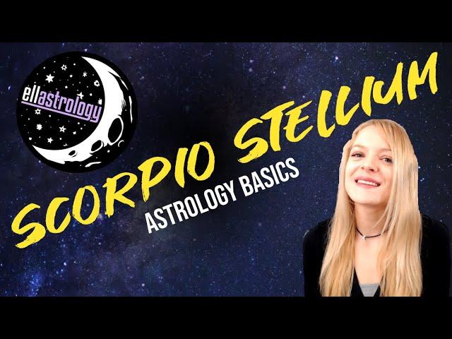 Stellium/ 3 or more planets in Scorpio