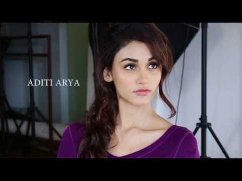 Aditi Arya | Photo Shoot Behind The Scenes