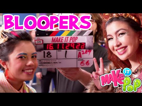 Make It Pop Bloopers & Behind The Scenes