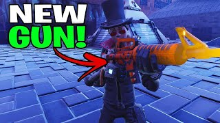 So this is the NEW Modded Grave Digger...! (Scammer Get Scammed) Fortnite Save The World