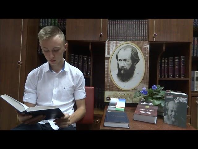 Изображение предпросмотра прочтения – ЕгорБулгаков читает произведение «Крохотки. Молитва» А.И.Солженицына