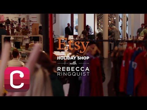 Etsy Holiday Shop with Rebecca Ringquist   Creativebug