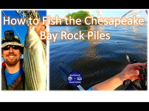 how-to-fish-the-bay-bridge-rock-piles,-sandy-point-state-park,-chesapeake-bay-bridge,-may-2018