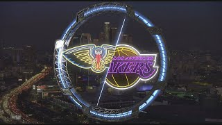 NBA 2K20 - New Orleans Pelicans Vs Los Angeles Lakers Hall Of Fame