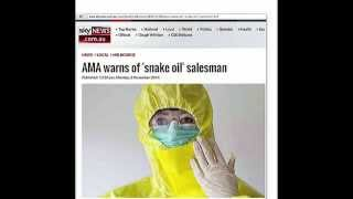 Snake oil salesmen of MMS-CHLORINE DIOXIDE