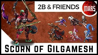 SCORN OF GILGAMESH | No Match For 2B, Zargabaath, & Merc Ramza! | FFBE