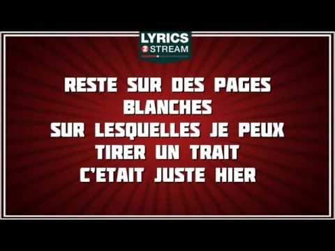 Paroles Tu Ne M'as Pas Laisse Le Temps - David Hallyday  tribute