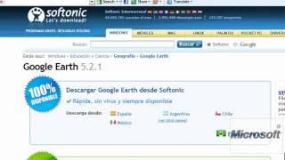 Como descargar e instalar GOOGLE EARTH