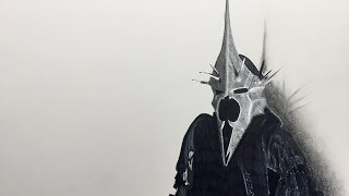 Drawing of Angamr wizard, The Lord of the rings - Enjoy the video!