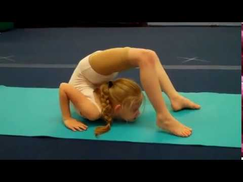 contortion/gym training at Jersey Cape Dance and Gymnastics