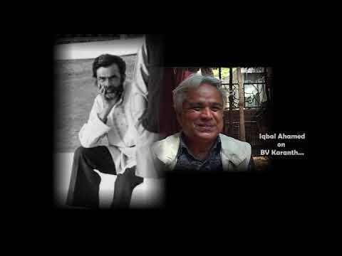BVK Online Archives 51 - Iqbal Ahamed on BV Karanth_Kannada