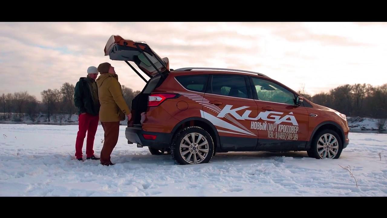 Тест драйв Ford Kuga 2017