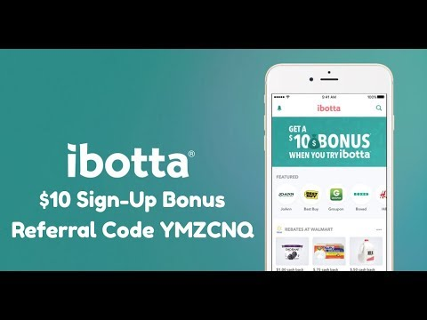 Ibotta Referral Code YMZCNQ Gives You a $10 Sign-Up Bonus!
