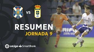 Resumen de CD Tenerife vs Real Oviedo (0-1)