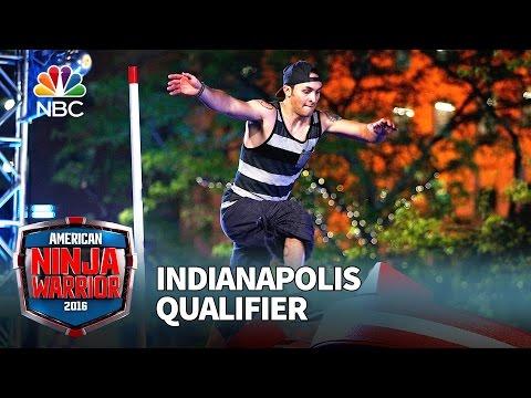 Lorin Ball at the Indianapolis Qualifier - American Ninja Warrior 2016