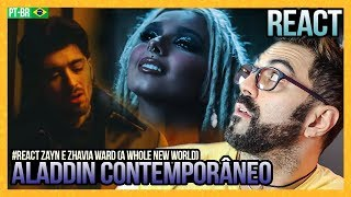 "Gambar cover REAGINDO a ZAYN, Zhavia Ward - A Whole New World (End Title) (From ""Aladdin"")"
