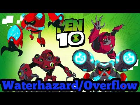 All Waterhazard/Overflow Transformations | Ben 10 (All)