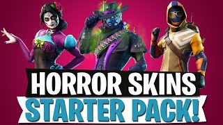 HORROR & ZOMBIE SKINS | STARTER PACK LEAK | Fortnite Battle Royale