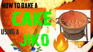 How to Bake a cake Using a Jiko