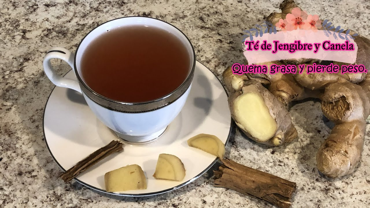 Dieta del jengibre con canela