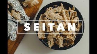 Vegan Seitan Chicken | cách làm mì căn [CUSUSU]