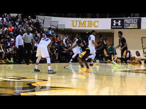 McNeil basket St. Frances/Mount St. Joseph basketball MIAA A finals 2/16/14