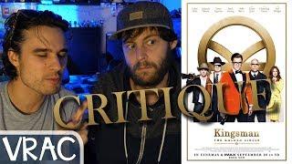KINGSMAN II THE GOLDEN CIRCLE - CRITIQUE EN VRAC