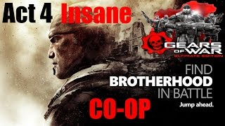 Gears Of War Ultimate Edition Insane Co-Op Walkthrough - Act 4 The Long Road Home
