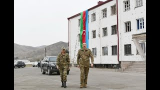 Президент и первая леди побывали в освобожденных от оккупации Физулинском и Джебраильском районах