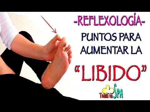 REFLEXOLOGÍA PODAL PARA AUMENTAR LA LIBIDO/FOOT REFLEXOLOGY FOR LIBIDO