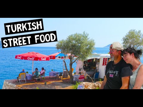 Amazing Street Food spot Kalkan | Van Life Turkey