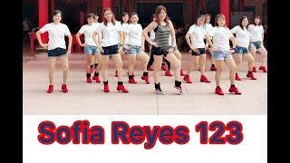 *123 by Sofia Reyes Ft Jason Derulo ~Dance Fitness Jenny Lim69
