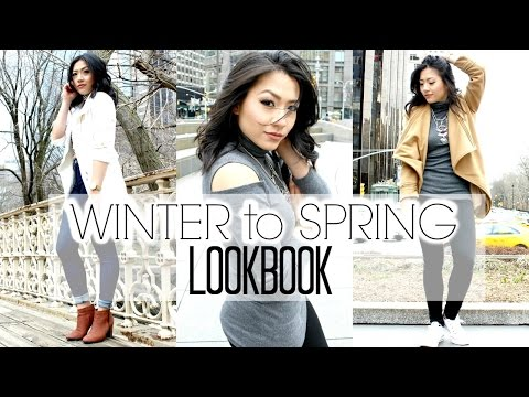 WINTER TO SPRING FASHION LOOKBOOK | End of Winter Outfits
